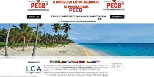 II Congresso Latino Americano de Profissionais PECB